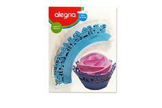 Envoltorio para Cupcakes Filigrana Baby Shower (12 pzas) from Super Materias Primas