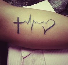 By Dusty Bierner   inner arm   faith   heartbeat   heart