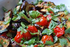 A good salad, easy to assemble delivering big flavour for the little effort. While the aubergines roast into the oven go the little tomatoes whole, first drizzled with a little oil and pomegranate molasses for a little sweet and sour dressing as some tomatoes will burst, their juice  adding their [click to continue...]