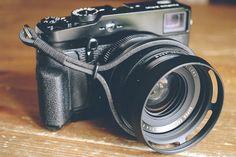 Leather Camera Wrist Strap Vintage Film Camera Strap by 595strapco