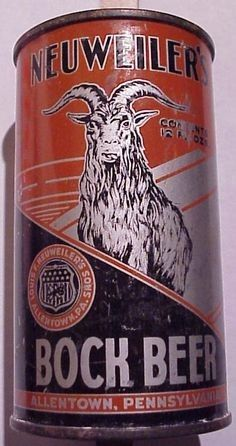 Neuweiler's Bock Beer /1930's