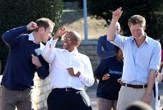 Prince William - Prince William And Harry Visit Lesotho - Day 2