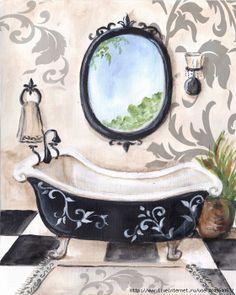 cuadros para baño