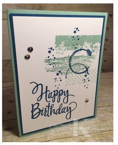 """Faithful INKspirations: Textured Birthday is made with Stampin' Up's """"Timeless…"""