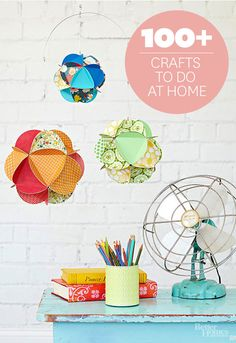 Why buy when you can DIY? Find fab craft ideas for every season here: http://www.bhg.com/crafts/?socsrc=bhgpin100214craftslandingpage