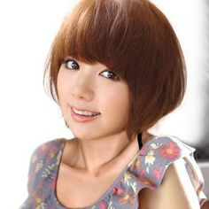 layers hair styles beautiful bowl cut with retro fringe japanese 7540