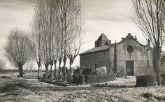 Ermita de Bellvitge,l'Hospitalet de Llobregat, any 1953