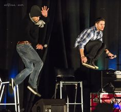 Wow, the boys caught some serious air on this jump! J2 entrance, NJCon2015