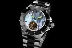 ANDROID® Divemaster® Enforcer 45 Automatic Tourbillon AD636BK - Specials Watch #luxurybrandswatches #brandwatches #watches #luxurywatch #menswatches #womenwatches #fashionwatch #fashion