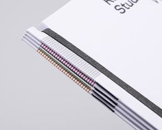 Rahtbone Studios by Here Book Binding Design, Book Design, Brochure Inspiration, Graphic Design Inspiration, Mises En Page Design Graphique, Printing And Binding, Leaflet Design, Design Research, Layout
