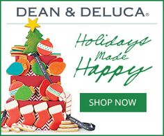 Dean & DeLuca is your source for gourmet foods and gift baskets.Find out more at our Christmas Gift Guide at http://www.allaboutcuisines.com/christmas #Christmas Gifts #Gift Ideas