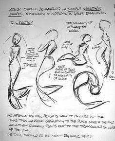 karusiarecords: Glen Keane sketches for little mermaid