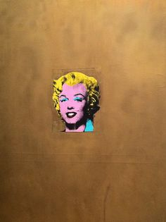 Gold Marilyn Monroe - Andy Warhol - MoMA, New York City