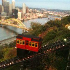Pittsburg, PA.   Beautiful Skyline!