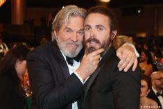 Casey Affleck, Jeff Bridges, Picture Movie, Russian Blue, Golden Globes, Celebs, Celebrities, Bearded Men, A Good Man