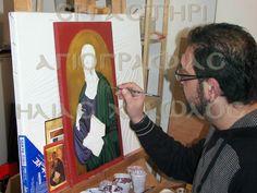 Αγιογραφίες Ηλίας Λώλος Byzantine Icons, Couple Photos, Couples, Couple Pics, Couple Photography, Couple