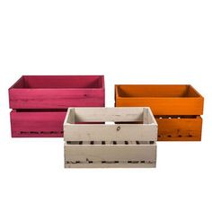 Apple Crates Bright Set Of 3, 75€, now featured on Fab.