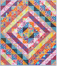 a1e7f3991bd8c5 ABUNDANCE Quilt Pattern  Quilt Inspiration  Free pattern day! Kaffe Fassett  Quilting and Sewing