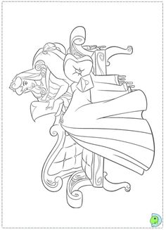 Printable Jasmine Coloring Pages 04