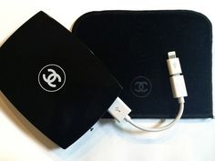 Chanel Compact Case Portable Charger