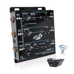 3 Way Active Crossover With Bluetooth Wireless Audio Connectivity