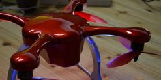 Welcome to Ghost Drone: An intelligent, smartphone operated flying drone