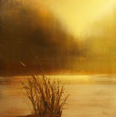 "Saatchi Art Artist Maurice Sapiro; Painting, ""River Fog SOLD"" #art"