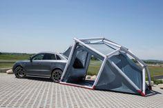Tente de camping pour Audi Q3 Quattro - Journal du Design
