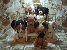 2000 Free Amigurumi Patterns: Puppy patterns: Shepherd, Collie, Beagle, Labrador and Spaniel