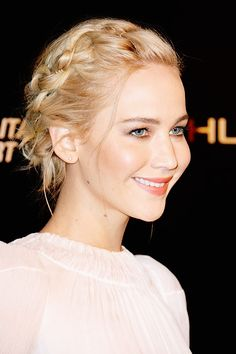 Jennifer Lawrence at the 'Mockingjay: Part 2' Paris Premiere today