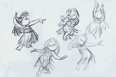 Model Sheet from Lilo & Stitch
