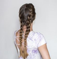 Loose French Braid Tutorial and Creative. - - Loose French Braid Tutorial and Creative Hairstyles Hairstyles With Glasses, Wedge Hairstyles, French Braid Hairstyles, Feathered Hairstyles, Pixie Hairstyles, Hairstyles With Bangs, Pretty Hairstyles, Bouffant Hairstyles, Beehive Hairstyle