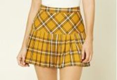 Create your own closet and sell your used clothing, shoes and items in our marketplace. Buy fashion from Influencers & shop celebrity closets in our online store. Clueless Halloween Costume, Cher Clueless, Plaid Skirts, Tartan Plaid, Forever 21, Yellow, Aesthetics, Outfits, Collection