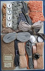 Products - Nifty Thrifty Dry Goods - Embellishment Assortments, Crazy Quilt Assortments
