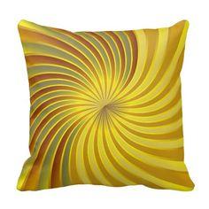 Pillow gold spiral vortex by Medusa Graphic ART http://www.zazzle.com/pillow_gold_spiral_vortex-189863411476355437?rf=238909315443825159&tc=pinterest