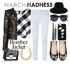 """Inspiration | March Madness n.1"" by martinambf on Polyvore featuring moda, Oscar de la Renta, Balmain, MAC Cosmetics, Rebecca Minkoff, Kate Spade, Adia Kibur, Karl Lagerfeld, Maison Michel e STELLA McCARTNEY"