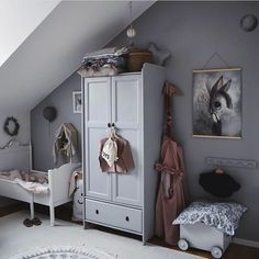 Girls' Rooms with Grey - with pink details or backdrop, Scandinavian style, colourful décor.Check out these inspirational rooms! hacks for teens girl should know acne eyeliner for hair makeup skincare Living Room Bedroom, Girls Bedroom, Grey Room, Bohemian Style Bedrooms, Kid Spaces, Small Spaces, Baby Room Decor, Kidsroom, Colorful Decor