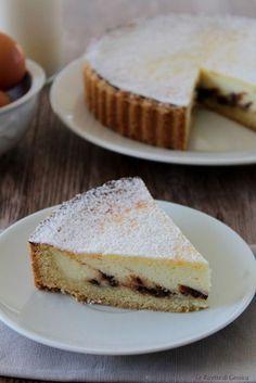 crostata torta di ricotta con bimby e non