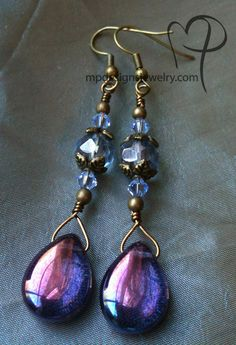 Viewing - Golden Moss Earrings, 1 left | MPdesignsjewelry.com | Jewelry by Melinda Jernigan
