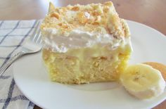 Plus Rezepte: Bananen-Pudding-Torte