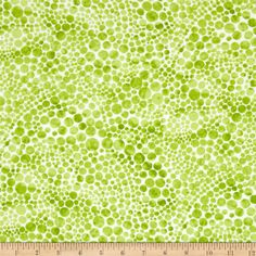 Dew Drops Bubble Dots Lime from @fabricdotcom  From Camelot Cottons, this cotton print is perfect for quilting, apparel and home decor accents. Colors include lime and white.