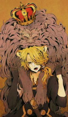Fear me if you dare. Anime Lion, Manga Anime, Anime Art, Manga Art, Touken Ranbu, Neko Boy, Boy Illustration, Illustrations, Anime Animals