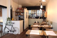 PAPERBOY | sundaysinparis Great name for a cycling coffee shop