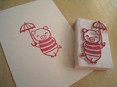 Stamp Pig