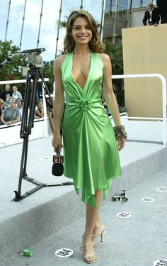 View forum - Celebs In Satin Dresses Silk Satin Dress, Satin Dresses, Sexy Dresses, Nice Dresses, Elegant Dresses For Women, Beautiful Dresses, Photos Of Dresses, Actrices Sexy, Party Mode