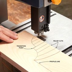 how to use a bandsaw:  essential bandsaw tips