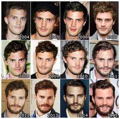 La evolución de Jamie Dornan