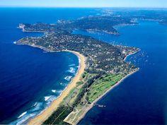 Palm Beach, Sydney Australia Beach, Australia Living, Sydney Australia, Sydney Beaches, World 2020, Land Of Oz, Great Barrier Reef, Aerial View, Beautiful Beaches
