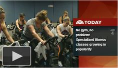 No Gym, No Problem: Specialized fitness classes growing in popularity  Pure Barre was featured in a segment on the TODAY Show this morning on the growing popularity of specialized fitness classes. TODAY Show anchor, Erica Hill, joined us for class at the Pure Barre studio in Union Square in New York, NY.