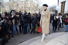Caro Daur attends the Stella McCartney show as part of the Paris Fashion Week Womenswear Fall/Winter 2018/2019 on March 5 2018 in Paris France